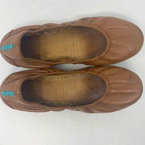 Tieks Chestnut Brown Ballet Flats Size 6